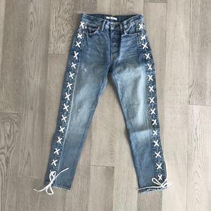 GRLFRND - Karolina High rise skinny jean - 25